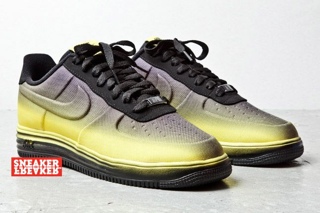 Nike Lunar Force 1 Low Black Yellow 1