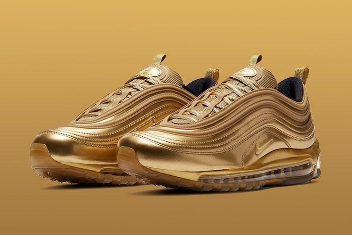 Nike Air Max 97 Gold Medal Ct4556 700 Front Angle
