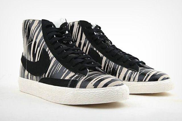Nike Blazer Mid Zebra 1