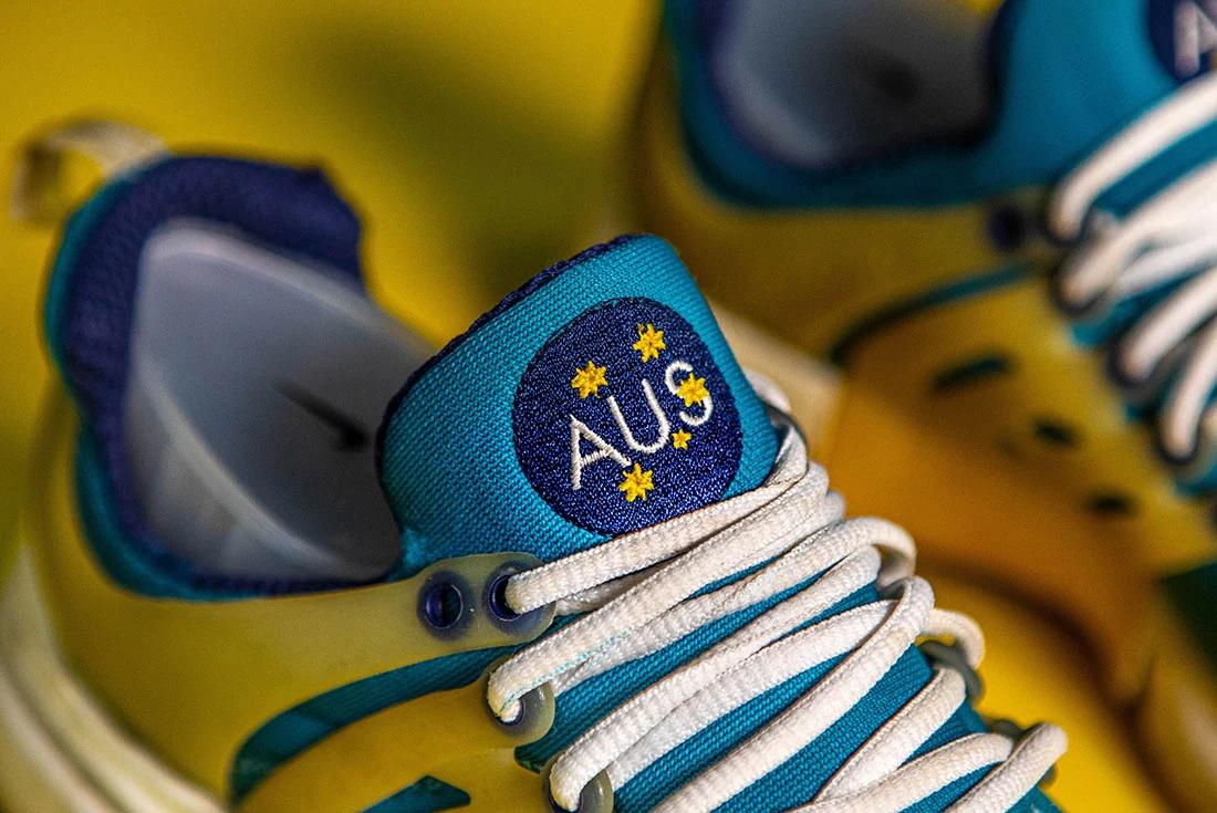 Nike Presto Australia Tongue