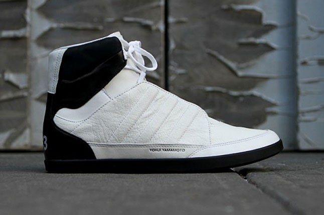 Adidas Y 3 Honja High White 1