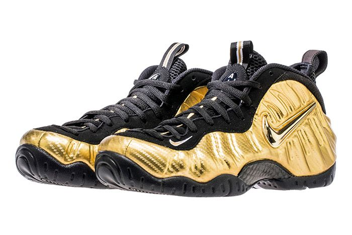 Nike Air Foamposite Pro Metallic Gold3