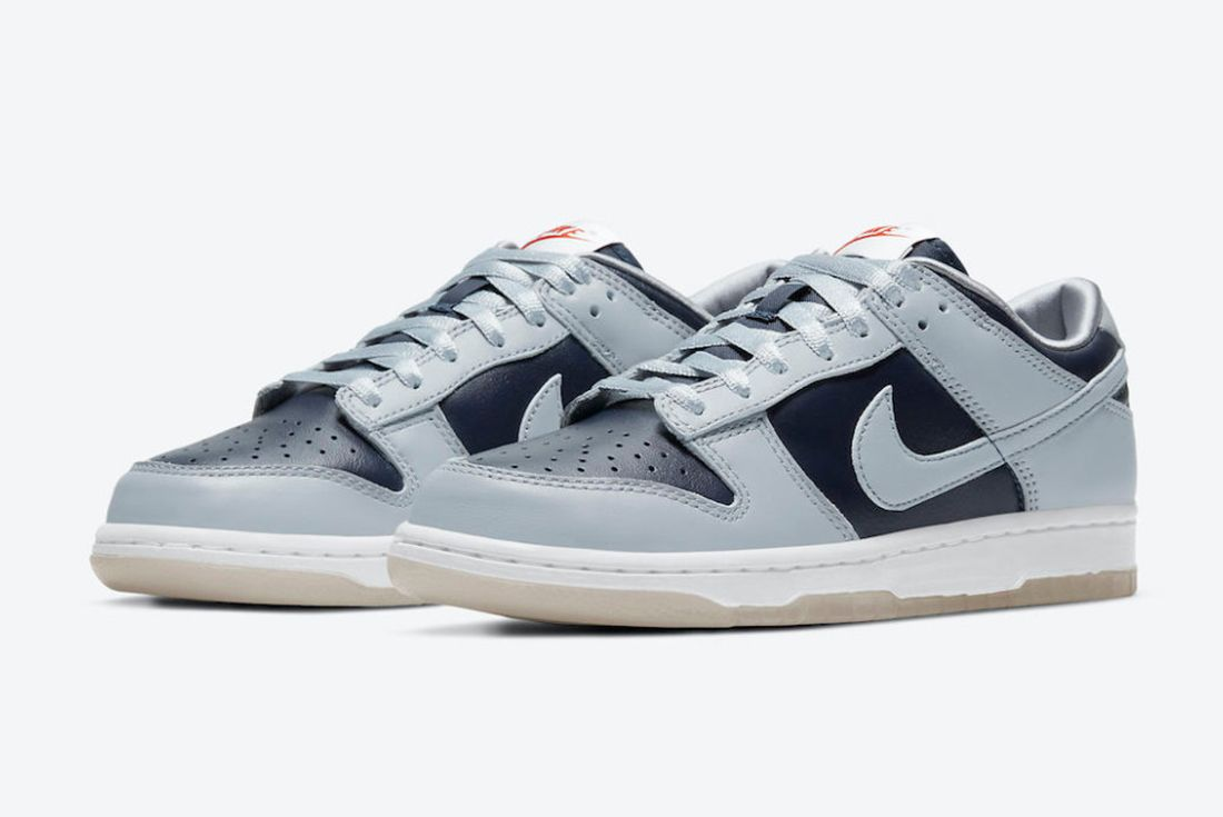 Nike Dunk Low 'College Navy' official pics