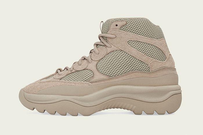 Adidas Yeezy Desert Boot Rock Release Date Medial