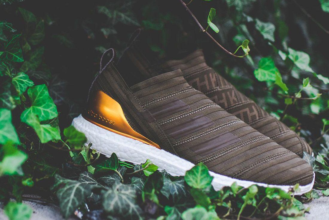 Kith Adidas Nemeziz Brown 12