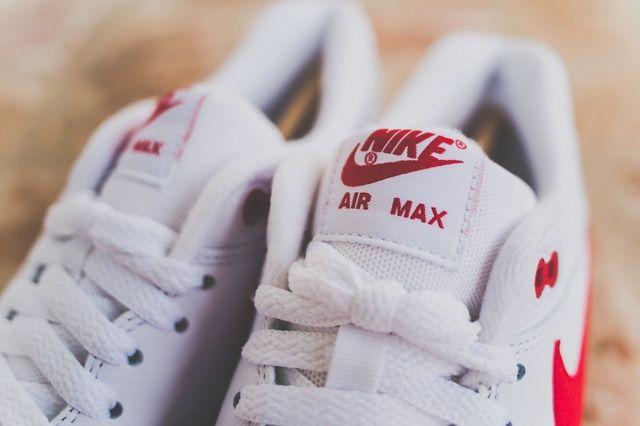 Nike Air Max 1 Leather Og White Uni Red 4