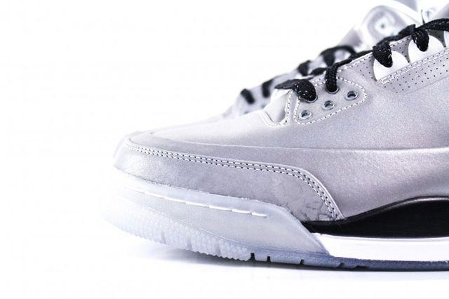 Air Jordan 3 5Lab3 Metallic Silver 3