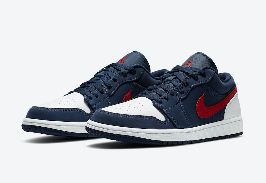 red white and blue 1s