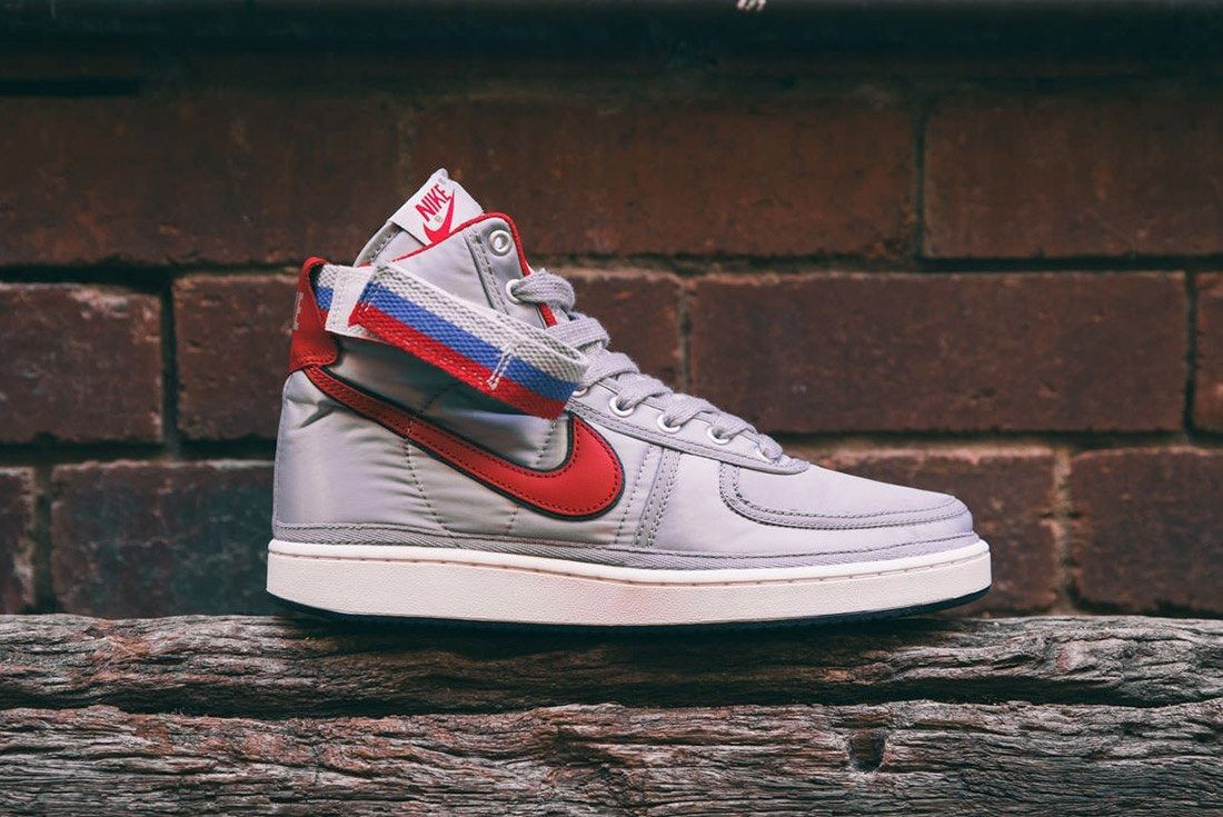 Nike Vandal High Supreme Qs Metallic Silver 1