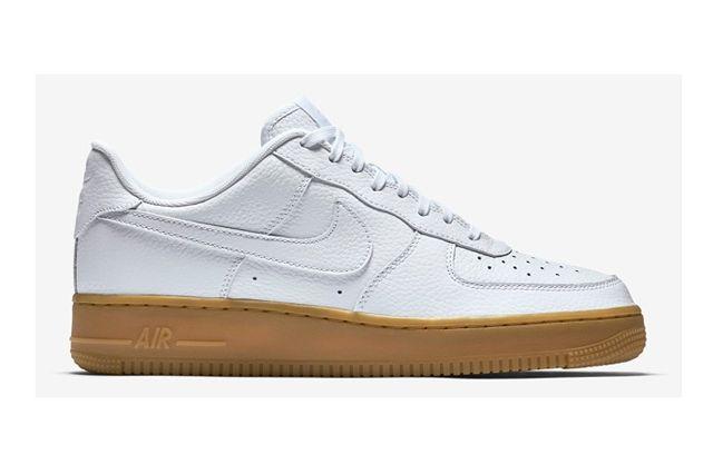 Nike Af1 White Gum 2