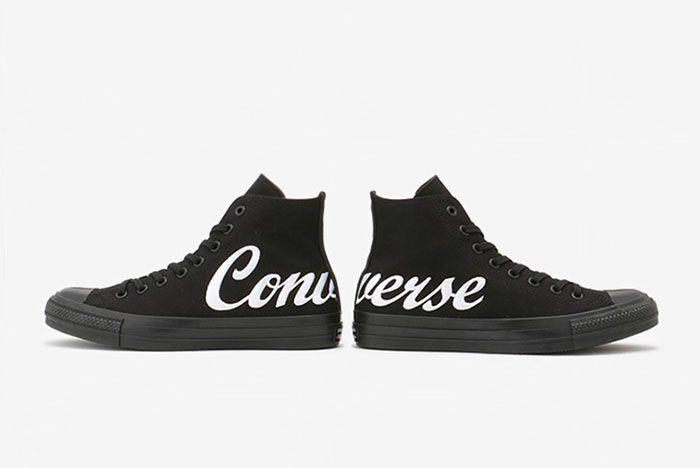 Converse Chuck Taylor Script Logo Black 1 Pair