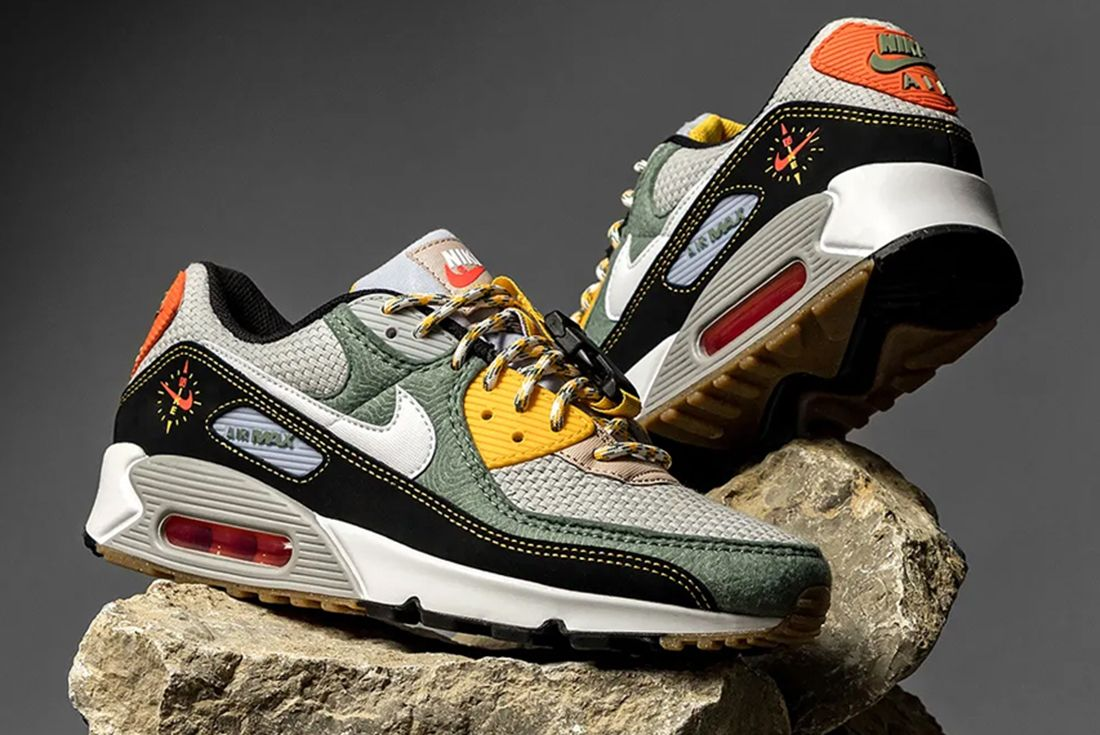 Buckle Up for Adventure in This Outdoor-Themed Nike Air Max 90 ...