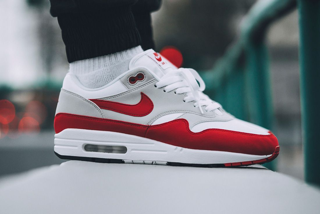 Nike Air Max 1 Red University Red 4