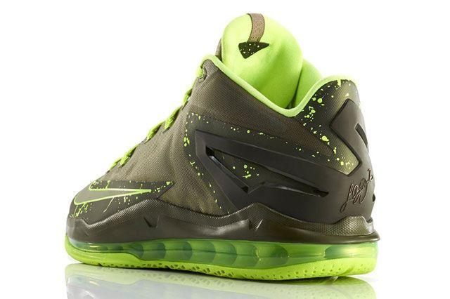 Nike Lebron 11 Low Dunkman Heel