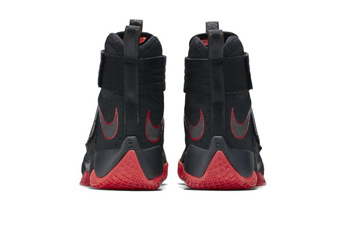 Nike Lebron Zoom Soldier 10 Black Red Bred 3