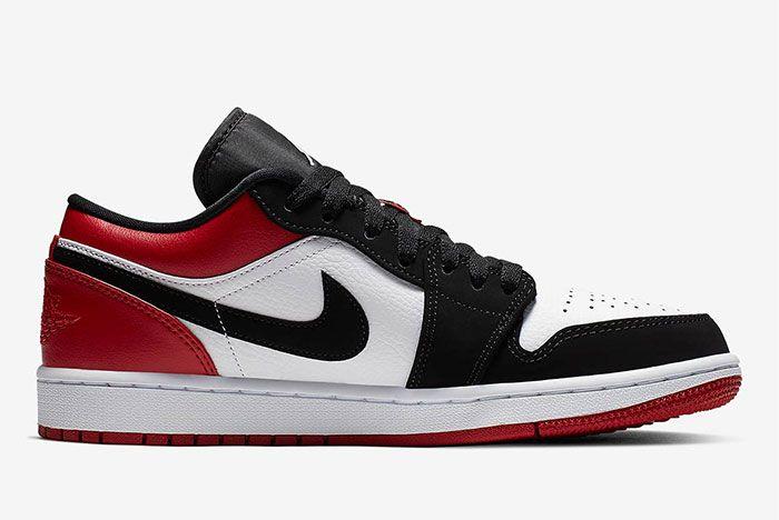 Air Jordan 1 Low Black Toe 553558 116 1