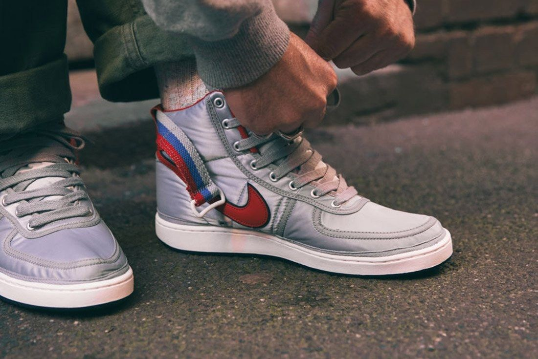 Nike Vandal High Supreme Qs Metallic Silver 8