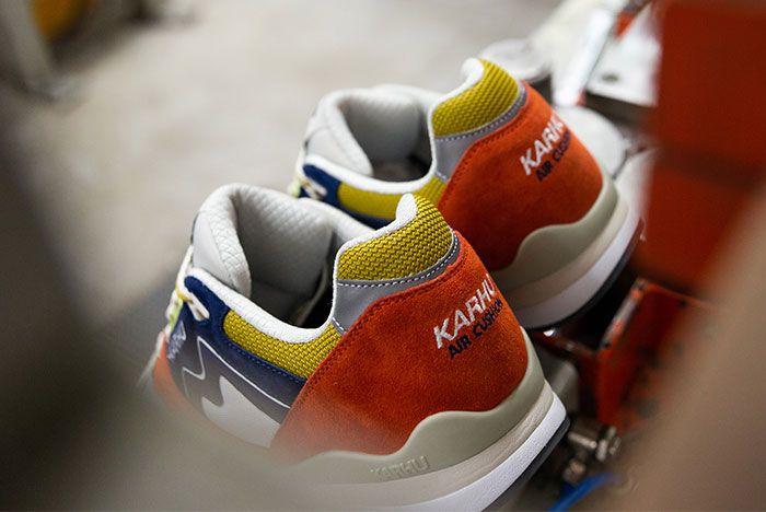 Karhu Synchron Orange Heel