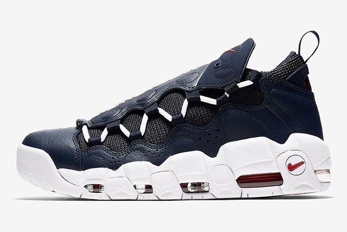 Nike Air More Money Blue 1