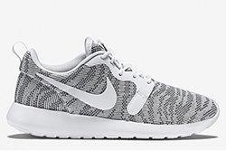 Nike Roshe Run Knit Jacquard White Cool Grey 1 Thumb