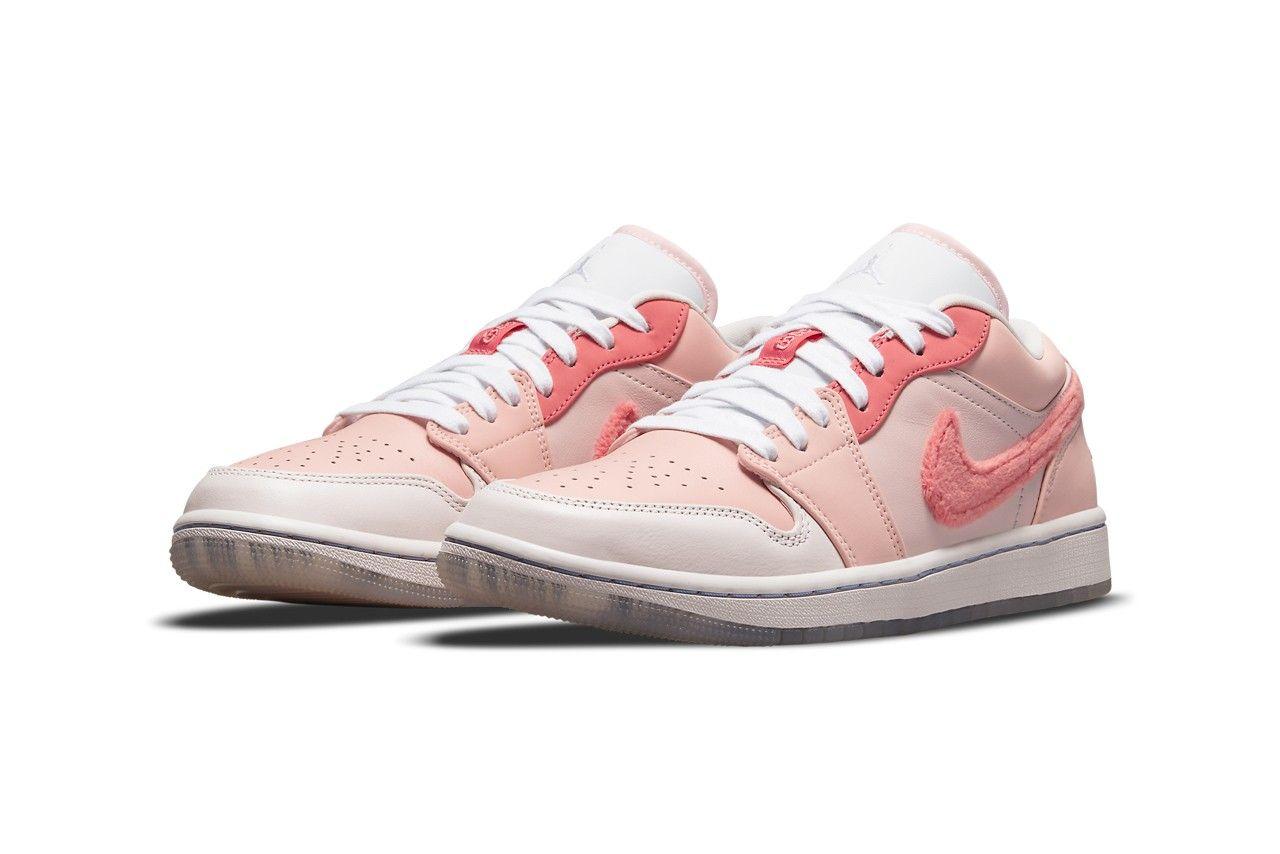 air jordan 1 low pink mighty swooshers