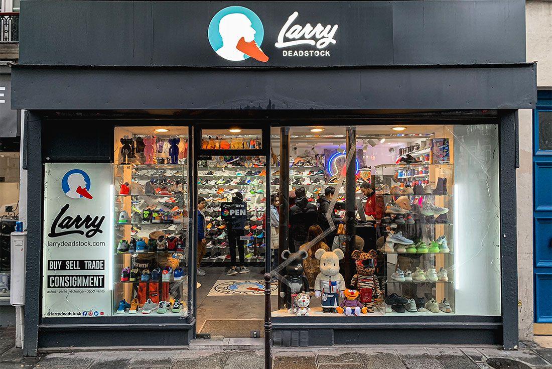 Larry Deadstock Paris Store Front Sneaker Freaker