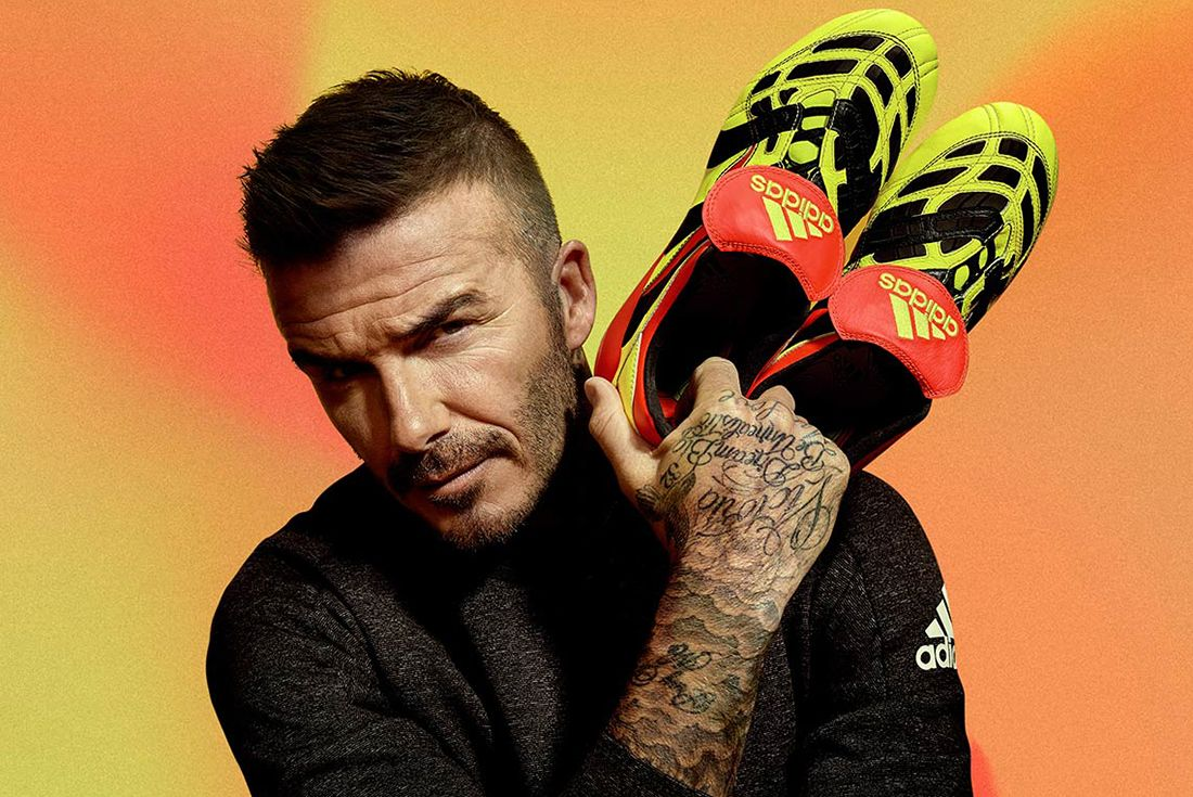 David Beckham Adidas Predator 10