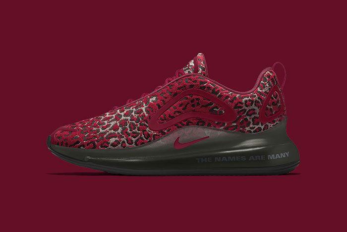 Maharishi Nike Air Max 720 By You Leopard Camo Bq7699 991 Red
