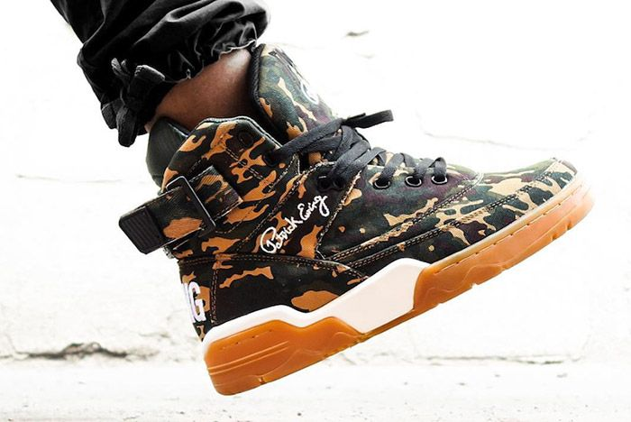 Ewing Athletics Hi 33 Camo Gum 2