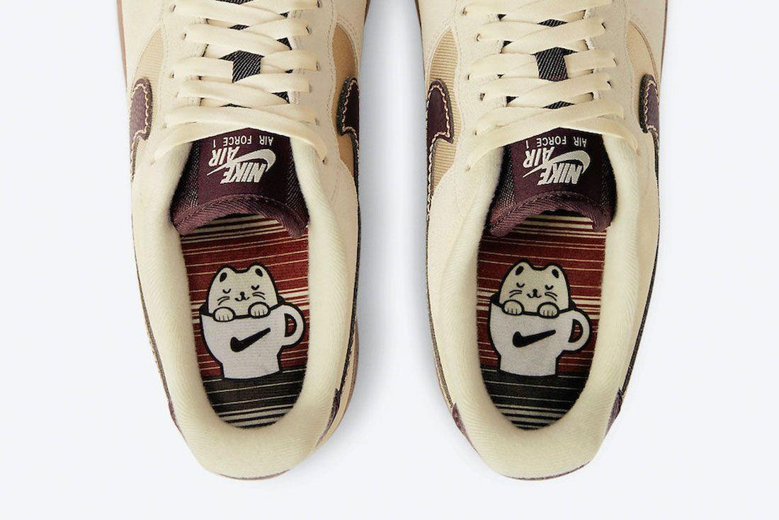 Nike Air Force 1 Coffee 2021