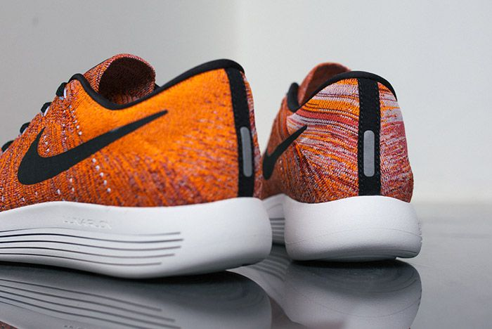 Nike Lunarepic Flyknit Low Orange Red 5