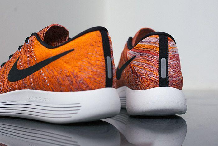 Nike Lunarepic Flyknit Low Orange Red 5