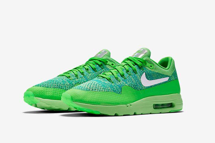Nike Air Max 1 Ultra Flyknit Green 4
