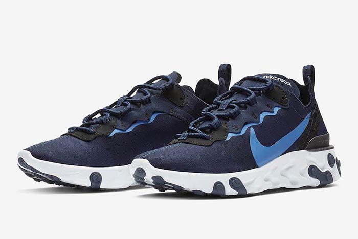 Nike React Element 55 Carolina Blue 3
