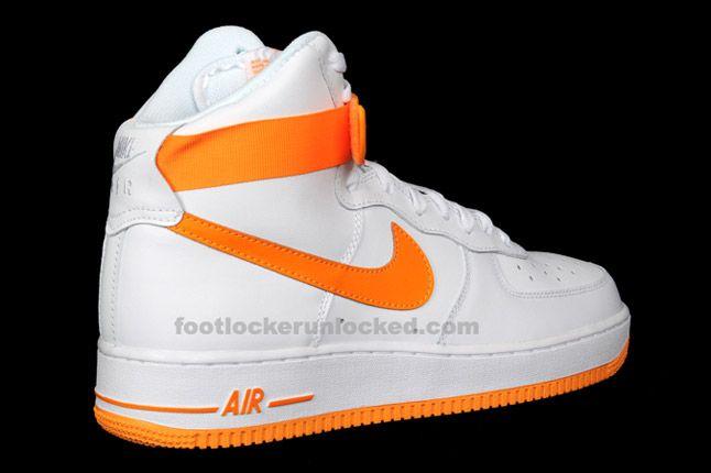 Nike Air Force 1 Hi Vivid Orange 06 1