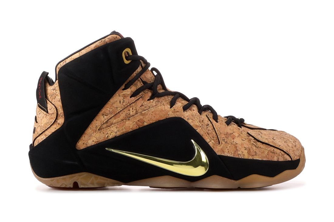 Nike Lebron 12 Ext Cork Material Matters Feature