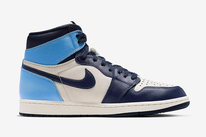 Air Jordan 1 Obsidian University Blue Right