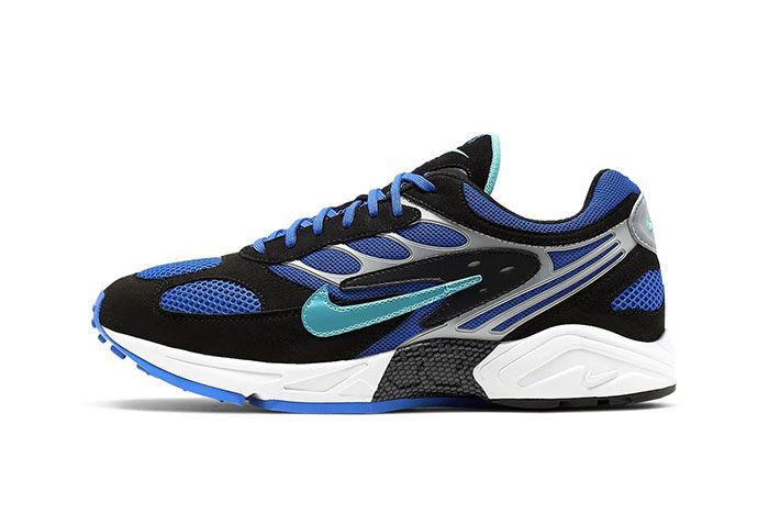 Nike Air Ghost Racer Racer Blue Lateral