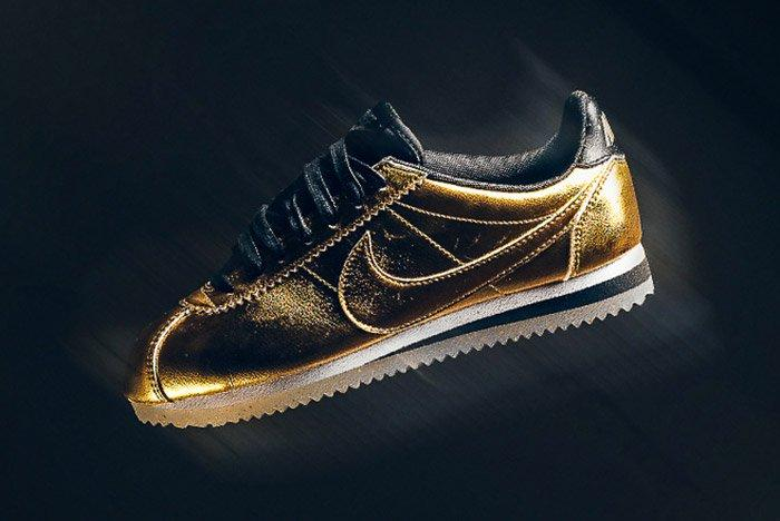 Nike Classic Cortez Metallic Gold 7
