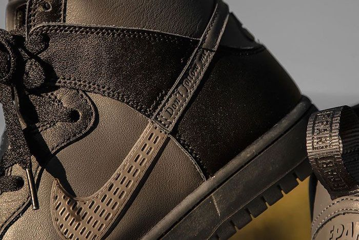 Fpar Forty Percent Against Rights Nike Sb Dunk High Bv1052 001 Swoosh Detail