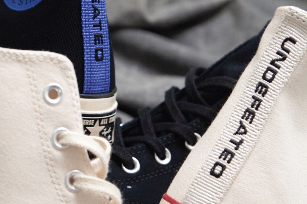 UNDEFEATED Converse Fundamentals Laces