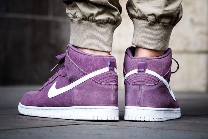 Nike Dunk High Violet Dust3