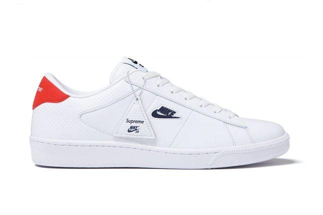 Supreme Nikesb Tennis Classic White Profile 1
