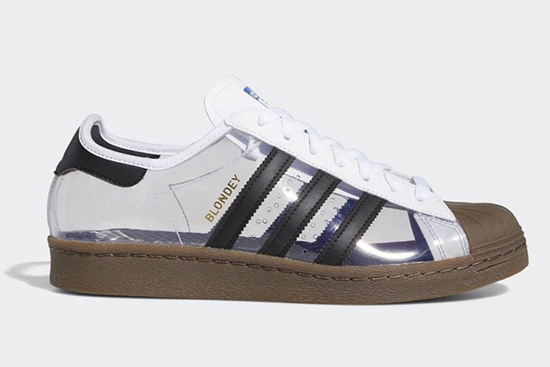 Blondey Mccoy Adidas Superstar Clear Lateral