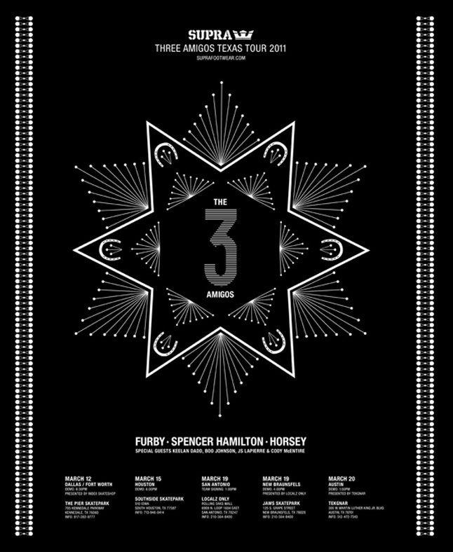 Supra Three Amigos Tour 1