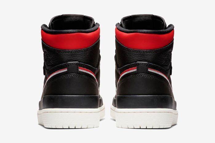 Air Jordan 1 Double Strap Red Black 5
