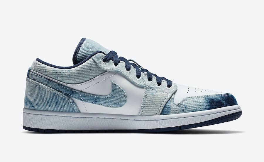 Air Jordan 1 Low Washed Denim Right
