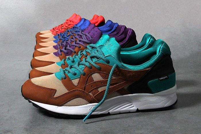 Concepts X Asics Gel Lyte V Mix Match Pack