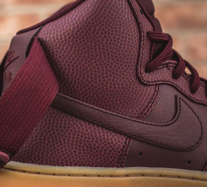 Material Matters Leather Pebble Grain Nike Air Force Cropped 1