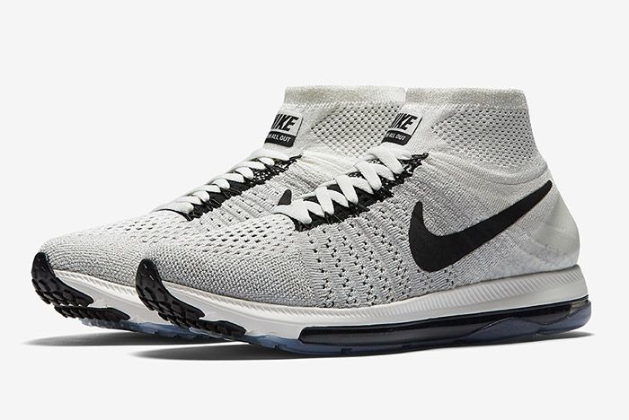 Nike Zoom All Out Flyknit Light Grey 5